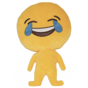 Almofada Emoji corpo inteiro chorar a rir