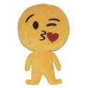 Almofada Emoji corpo inteiro beijinho coração