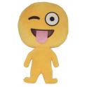 Almofada Emoji corpo inteiro língua de fora