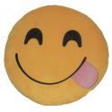 Almofada Emoji língua de fora