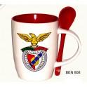 Caneca com colher Benfica