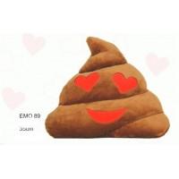 Emoji Cócó com corações