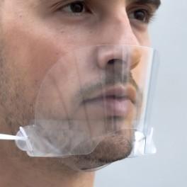 Mascara transparente boca-nasal