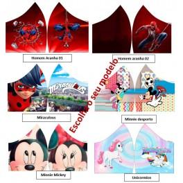 Máscaras Personagens infantis