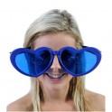 Óculos Gigante Coração Azul